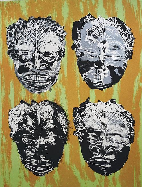 Arman - Masks (Masques)