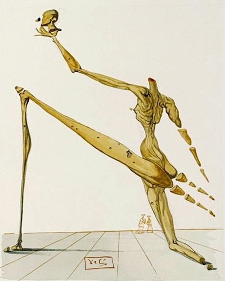 Salvador Dali - The Divine Comedy, Bertrand de Born (8/12 )