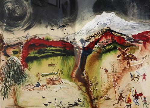Salvador Dali - Autumn