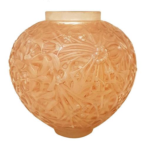 René Lalique - Vase Gui