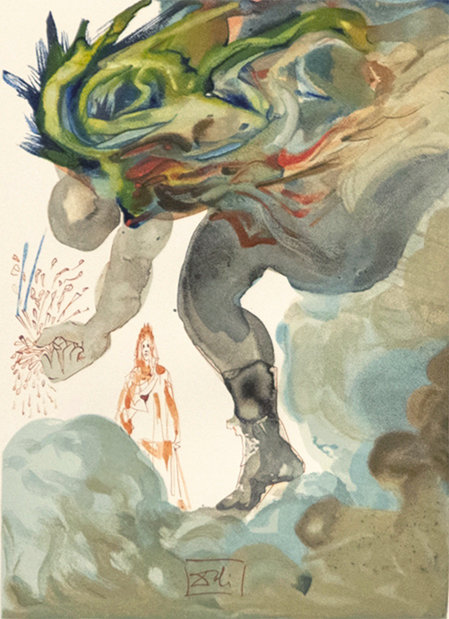 Salvador Dali - The Divine Comedy, The Giants (5/12)