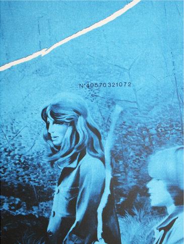 Jacques  Monory - Deux Femmes