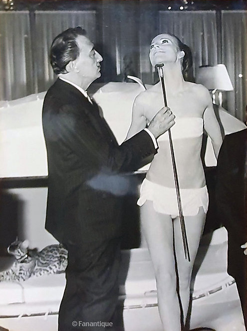 Salvador Dali - Photograph, Dali Collection 1965