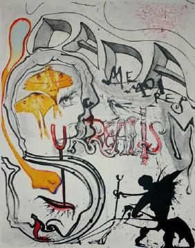 Salvador Dali - Angel and Dada Surrealism, Memories of Surrealism