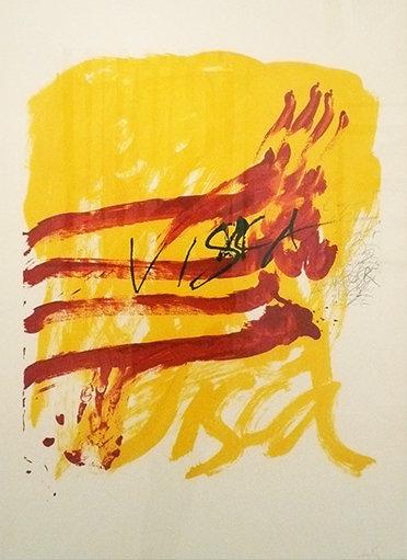 Antoni Tàpies - Als mestres de Catalunya