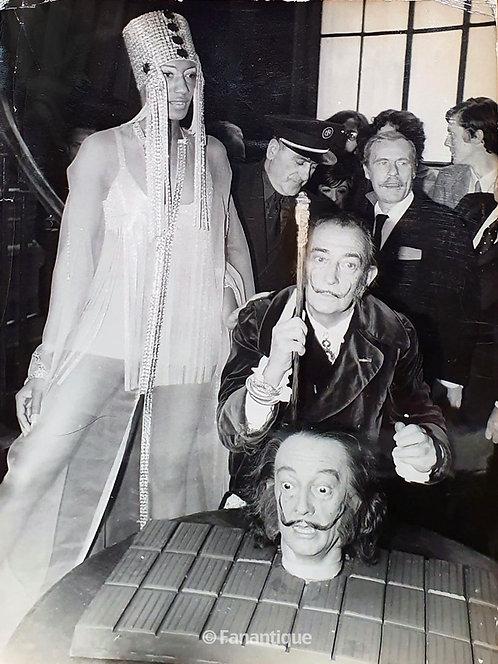 Salvador Dali - Photograph, Chocolate Head, Moreau Museum