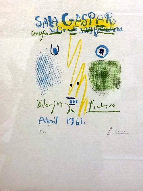 Pablo Picasso - Sala Gaspar 1961