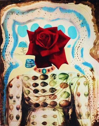 Salvador Dali - Surrealist Flower Girl, Memories of Surrealism