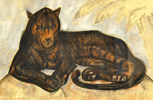 Jean Royer - Drawing Panther
