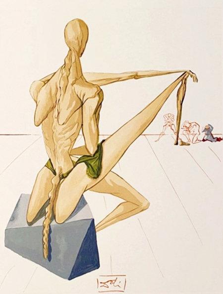 Salvador Dali - The Divine Comedy 'Minos' (11/12)