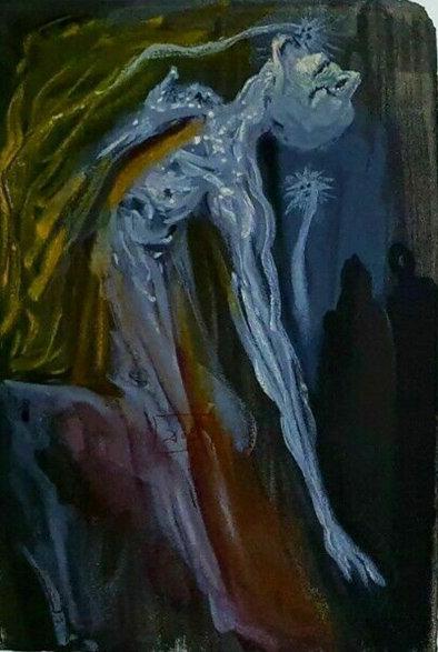 Salvador Dali - The Divine Comedy, Erinnyes, Inferno 09 (1/12)