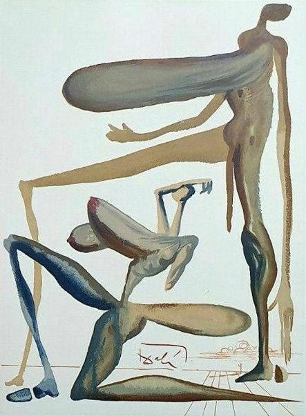 Salvador Dali - The Divine Comedy, Extravagance (4/12)