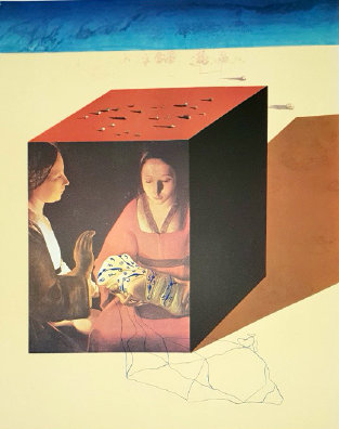 Salvador Dali - Caring for a Surrealist Watch, Memories of Surrealism