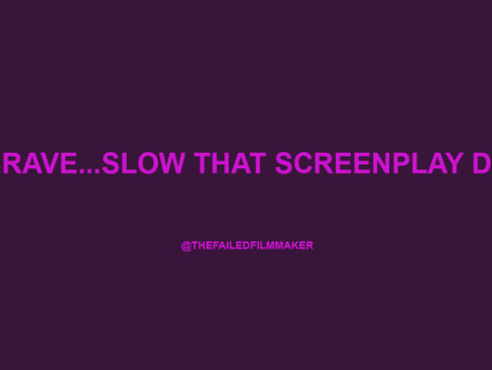 LET YOUR SCREENPLAY BREATH