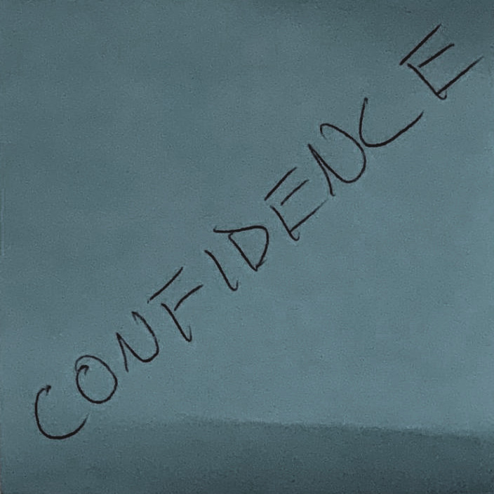 The word confidence