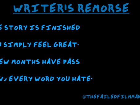 IS THERE SUCH THING AS WRITER'S REMORSE?