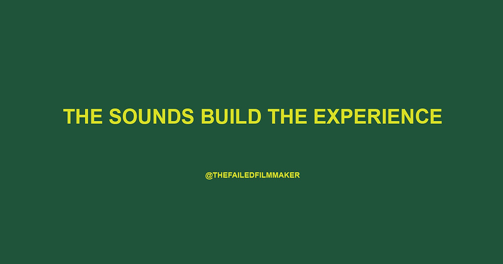 The words The Sounds Build The Experience