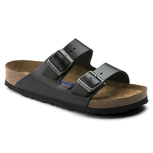 Arizona Soft Footbed Smooth Leather, Amalfi Black