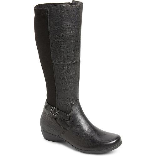 Dansko Francesca Tall  Boot, Black