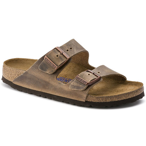 Arizona Soft Footbed Leather, Tobacco Brown