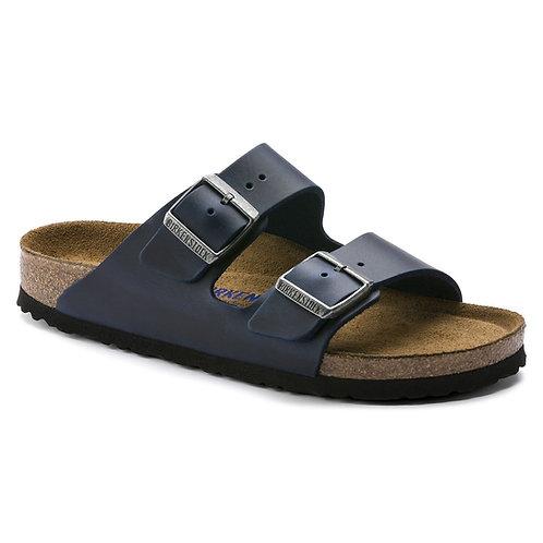 Arizona Soft Footbed Leather, Blue