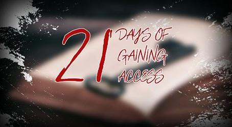 (21) アクセスのための21日間の祈り