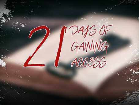 アクセスのための21日間の祈り