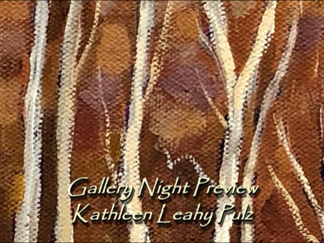 Opening Night of my Virtual Gallery!  May 1, 2020