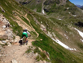 working for MTB enduro races in Italy