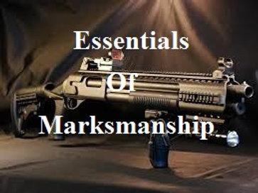 Essentials of Marksmanship Shotgun