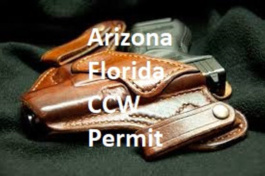 Arizona/Florida CCW Permit Course