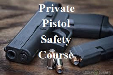 Private Pistol Safety Course