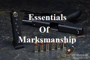 Essentials of Marksmanship Pistol