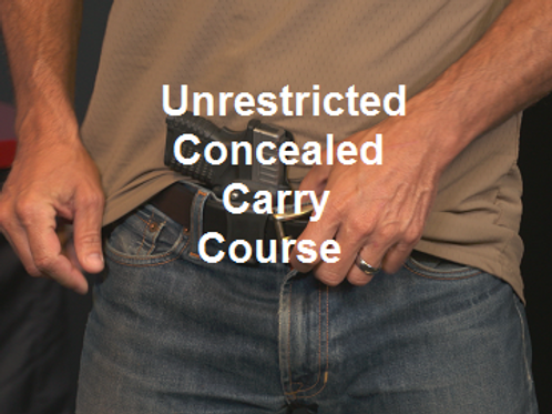 Unrestricted Concealed Carry Course