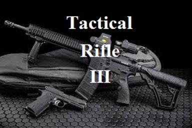 Tactical Rifle III