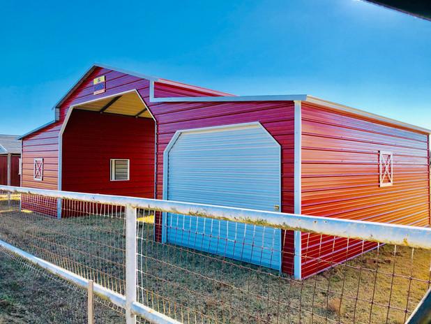 Lean Tube Texas Barn