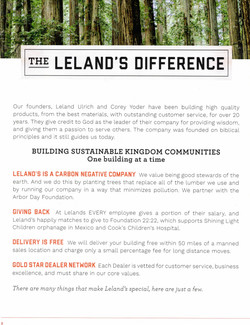 LELAND'S DIFFERENCE