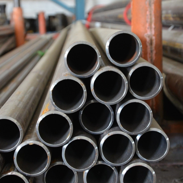 Carbon steel seamless pipes.