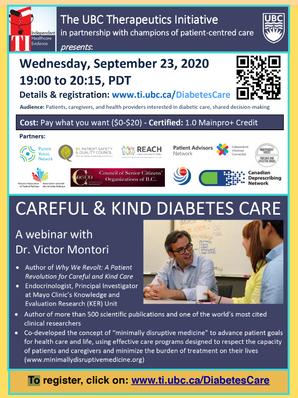 Careful & Kind Diabetes Care - a webinar