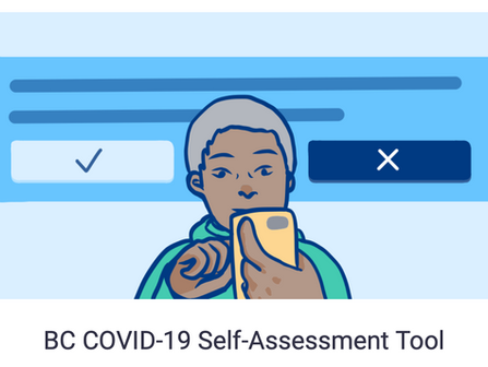 BC COVID-19 Self-Check: What to do in the event of cold or flu symptoms *EVEN MILD ONES!