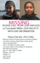 MISSING: Kristine Floyd-Paul. Please call with any information