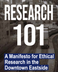 Research 101 : A Manifesto for Ethical Research in the Downtown Eastside