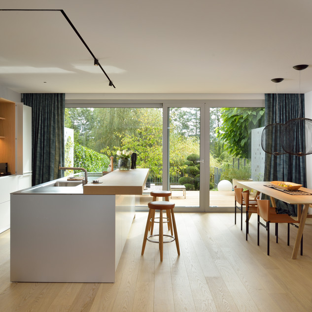 prenova kuhinje v vrstni hiši