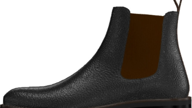 Pre-Order - Black Mocha Chelsea Boots