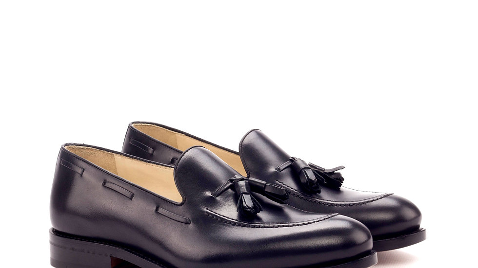 Black Tassle Loafer