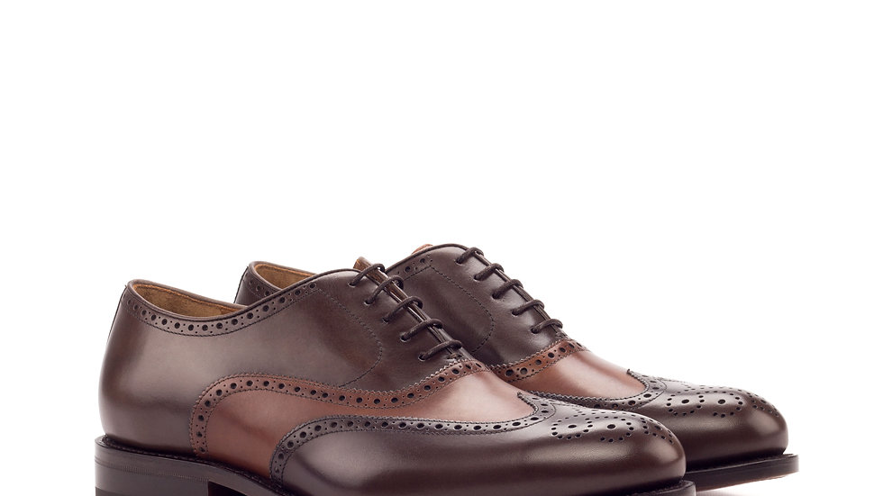 Cognac Mocha Full Brogue