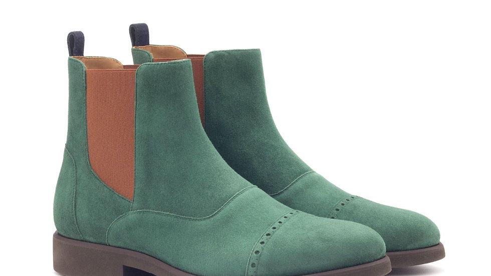 Bos suède Chelsea boots