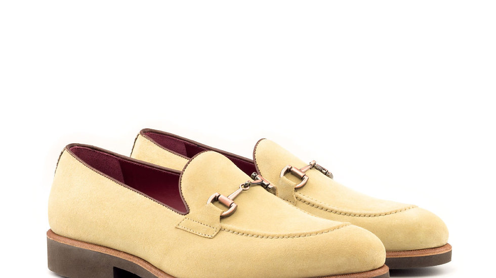 Sand Suede Loafer