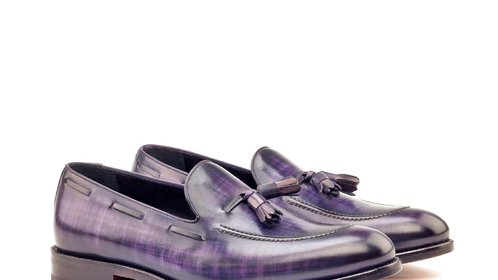 Mulberry Patina Tassle Loafer