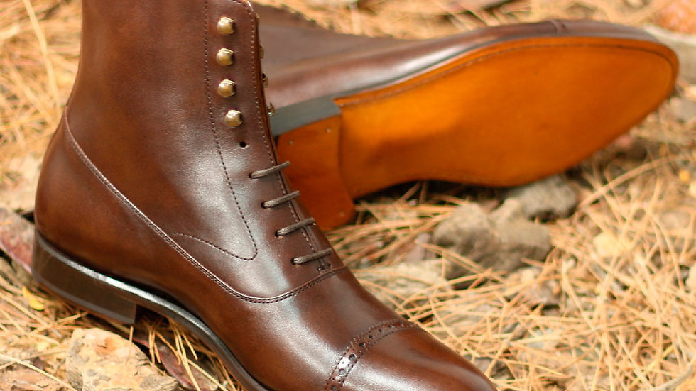 Mocha Balmoral Boots